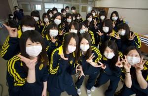 みんなマスクでも、みんな笑顔!みんな元気!福島県