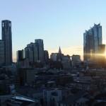 2013年1月1日東京通訳センターから見た初日の出