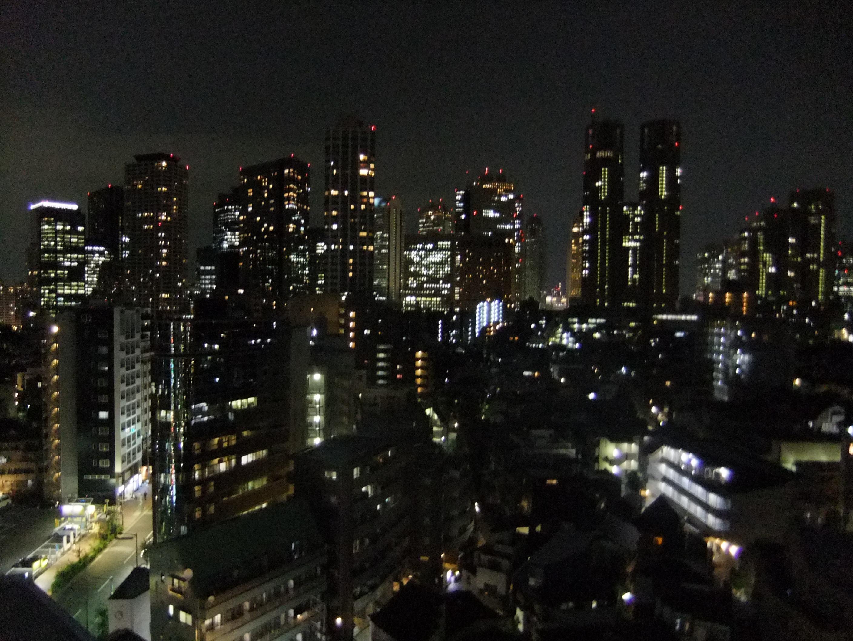 東京通訳センターからみた夜景 その1