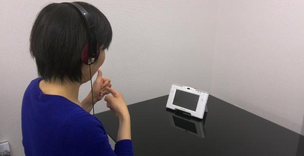 ビデオフォンでの代理電話イメージ